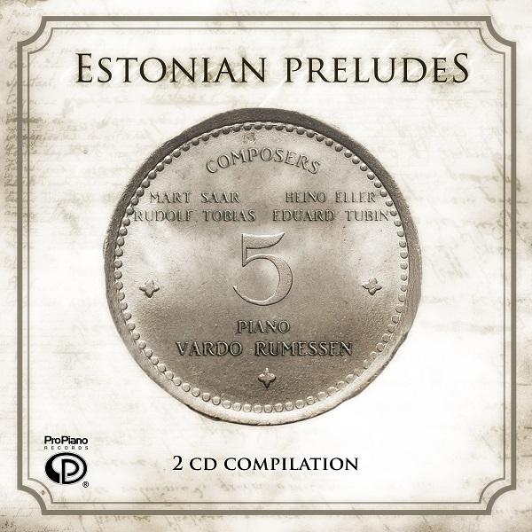 Pro Piano Records - Estonian Preludes (Packaging Design by Josh C.)